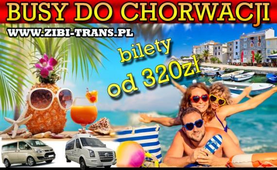Busy do Chorwacji Zibi-Trans